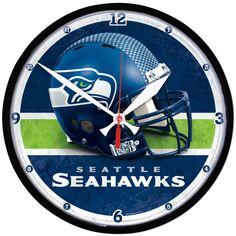 Seattle Seahawks Round Wall Clock
