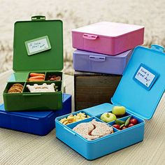 Shop spencer bento box containers from Pottery Barn Kids. Find expertly crafted kids and baby furniture, decor and accessories, including a variety of spencer bento box containers. Bento Box Lunch, Lunch Snacks, Box Lunches, Bento Lunchbox, Picnic Lunches, Healthy Lunches, Lunch Box Containers, Boite A Lunch, Little Lunch