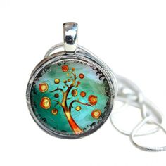 """""""MAGNETIC Necklace - Interchangeable - Includes snake chain, magnetic pendant base and 6 toppers"""