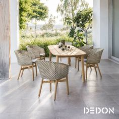 Dedon New 2018 Collections Wdcdesign Outdoorfurniture Outdoordesign
