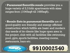Paramount Floraville (9910002540) Resale Price Noida Sector 137, Ready t...