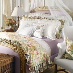 Love the lavender and the floral