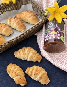 Vegán szilvalekváros mini croissant Szafi lisztekből - Kelt tészták - Gluténmentes övezet - blog
