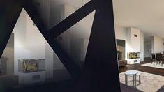 | INTERIORS 1920 | by POINTL MARTIN DESIGN STUDIOS Im modernen Hausbau sind offene Grundrisse seit einiger Zeit absolut im Trend. Im Zuge dessen verschmelzen die Bereiche Kochen, Essen und Wohnen immer mehr miteinander. Es entsteht ein großzügiger Raum, der Wohnzimmer und Küche in einem ist. Der Kochbereich fügt sich nahtlos in den Wohn- und Essbereich ein, die Übergänge werden bewusst fließend gestaltet. Design Studio, House Design, 1920, Studio Living, Trends, Oversized Mirror, Modern, Studios, Interior