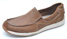 Clarks ALLSTON FREE Tan Brown Slip-Ons Loafers Men's 9.5 - NEW -  #Clarks #LoafersSlipOns