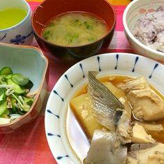 ぶり大根*酢の物 *味噌汁 - 8件のもぐもぐ - 夕ご飯 by karintou2525
