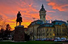 Szegedi naplemente. Hungary. Foto: Szabó Bálint