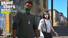 Gta 5 Mods, Red Dead Redemption, Jackson, Rain Jacket, Windbreaker, Graphics, Games, Youtube, Character