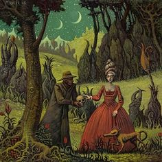 Michael Hutter ''To evoke these pictures I developed some techniques which consists of my way to deal with literature, art, music, phil. Magritte, Surreal Artwork, Lowbrow Art, Art For Art Sake, Fantastic Art, Halloween Art, Dark Art, Illustrators, Illustration Art