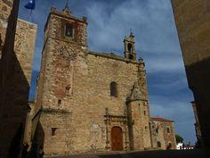 Iglesia de San Mateo en Cáceres