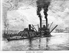 The CSS Arkansas was a Confederate Ironclad warship which served during the American Civil War in the Western Theater. Description from pinterest.com. I searched for this on bing.com/images