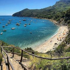 Boats, Boats ⛵⛵…Summer, Summer - Porto Ercole, Monte Argentario, Tuscany @Regrann from @siniandrea - - #portoercole #monteargentario #argentario #beach #spiaggia #praia #playa #boats #yachts #barche #yachting #crystalwater #summer #estate #giglio...