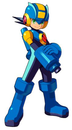 Megaman.EXE by ultimatemaverickx on deviantART
