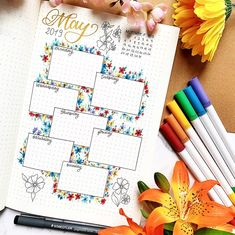 Bullet Journal weekly distribution of ig @ handmadelettering - Home Decor . - Bullet Journal weekly distribution of ig @ handmadelettering – Home Decor – -