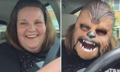 Candace Payne went to Kohls and found a hidden treasure: A $20 talking Chewbacca mask that will probably sell out, now that the mom's selfie video has gone viral.  In a simple four-minute video posted to her Facebook page, Payne tries on the mask and bursts into laughter again and again. Maybe it's her central casting-worthy chortle, or her soothing delivery or the sight of Chewbacca with a mismatched lady voice coming out of his mouth, but something about it really hit people the right way.