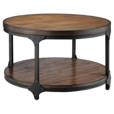 Market Round Coffee Table in Elm | Wayfair $206