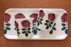 Tray Marimekko, Tray, Mugs, Tableware, Prints, Design, Dinnerware, Tumblers, Tablewares