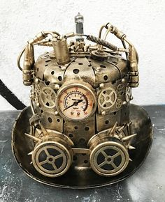 The Effective Pictures We Offer You About modern Steampunk Fashion A quality picture can tell you many things. You can find the most beautiful pictures that can be presented to you about Steampunk Fas Steampunk Hut, Costume Steampunk, Steampunk Top Hat, Steampunk Goggles, Steampunk Design, Steampunk Wedding, Steampunk Clothing, Steampunk Necklace, Steampunk Crafts