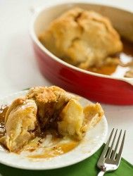 Apple Dumplings by @browneyedbaker :: www.browneyedbaker.com