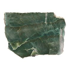 Anna New York - Kiva Platter - Emerald Quartz / Gold