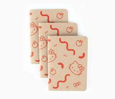 Hello Kitty x Poketo 3-Pce Notebook Set