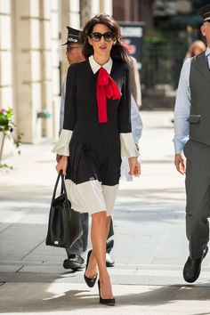 b8b7da52a8a4 10 workwear style lessons to steal from Amal Clooney