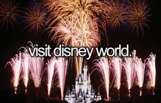 Visit Disney World | Bucket List