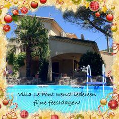 Seasons Greetings Villa Le Pont