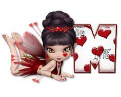 Afabeto de hadita amorosa. | Oh my Alfabetos!