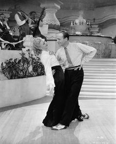 "Fred Astaire y Ginger Rogers en ""Roberta"", 1935"