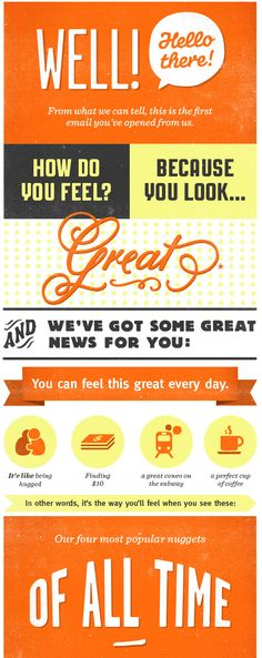 15 awesome email newsletter designs   Email newsletter design and ...
