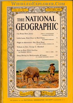 National Geographic, January 1960