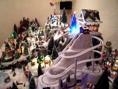 My Christmas Village 2010-2011 - YouTube