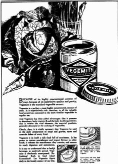 Vegemite - West Australian - 12 May 1932 Vintage Recipes, Vintage Food, Australian Vintage, Marmite, Vintage Ephemera, Junk Food, Vintage Posters, Advertising, History