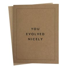 """Single blank greeting card measures 4.25"""" x 5.5"""" and comes with matching A2 envelope."""