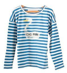 Stripes Echo Long-sleeved T-shirt from Bobo Choses at Kidsen
