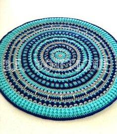 Crochet Spiral Rug