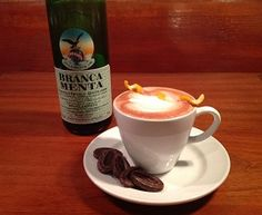 Hot Chocolate with Fernet Branca Menta