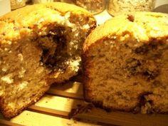Cake bananes Nutella (une crème sans l'huile de palme pour ma part) à la machine à pain Cake Banane Nutella, Allrecipes, Tea Time, Banana Bread, Gluten, Breakfast, Desserts, Food, Map