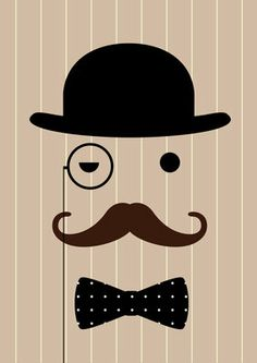 Gentleman Print by Dicky Bird .Not so long ago men went to work looking like this.