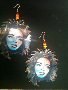 Lauryn Hill Earrings by luxorcouture on Etsy, $15.00