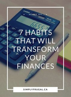 7 Habits that Will Transform your Finances. Money Saving Tips. Money Saving Challenge, Money Saving Tips, Saving Ideas, Money Tips, Managing Money, Budgeting Finances, Budgeting Tips, Grocery Savings Tips, Financial Tips