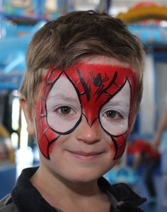 Pókember - Spider-Man Arc, Spiderman, Carnival, Projects To Try, Painting, Kids Makeup, Spider Man, Carnavals, Painting Art