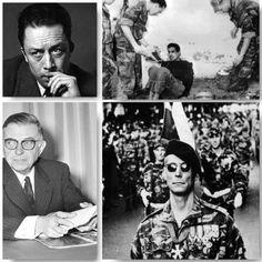 """Camus, Sartre, los """"paracas"""" franceses y la guerra sucia en Argelia: la otra…"""
