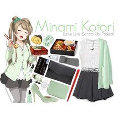 Minami Kotori [Love Live! School Idol Project] by anggieputeri on Polyvore