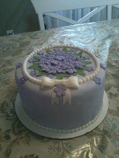 Vanilla Layer Cake With Whipped Rum-Ganache Icing Recipe — Dishmaps