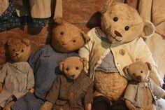 Old Collection of Bears