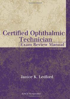 Certified Ophthalmic Technician Exam Review Manual (The B... https://www.amazon.com/dp/1556426488/ref=cm_sw_r_pi_dp_x_-gMYxbFQJPKJ4