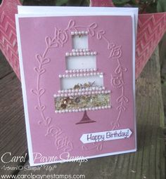Shake & Celebrate with the Stamper's Dozen! by Carol Payne - Cards and Paper Crafts at Splitcoaststampers