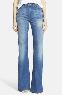 Madewell 'Flea Market Flare' High Rise Jeans (Thom)